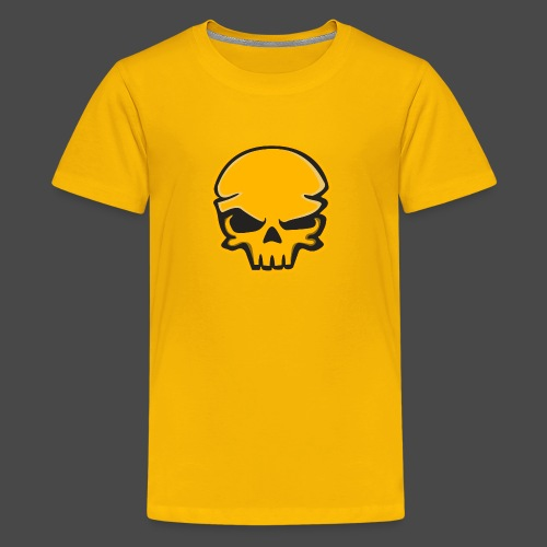 Gold Black Logo - Kids' Premium T-Shirt