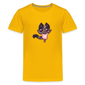 happy cat tshirt - Kids' Premium T-Shirt