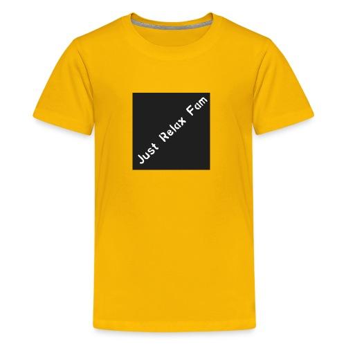 Just Relax Fam Logo - Kids' Premium T-Shirt