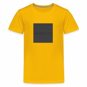 Blackdot grey - Kids' Premium T-Shirt