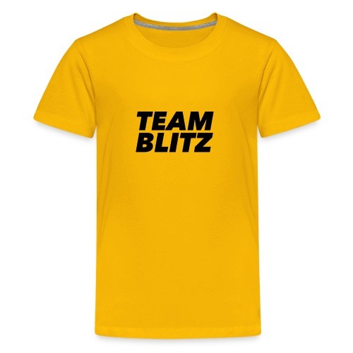 Team Blitz Logo - Kids' Premium T-Shirt