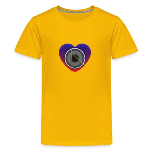 Heart Of Drums Logo - Kids' Premium T-Shirt