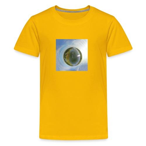 Intracoastal Waterway Tiny Planet - Kids' Premium T-Shirt
