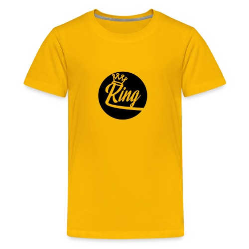 King Kunta New School Logo - Kids' Premium T-Shirt