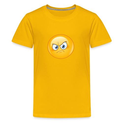 annoyed emoticon - Kids' Premium T-Shirt