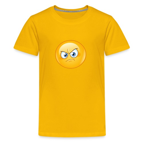 annoyed emoticon - Kids' Premium T-Shirt