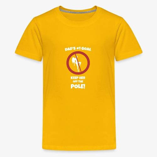 Dad s No 1 Goal - Kids' Premium T-Shirt