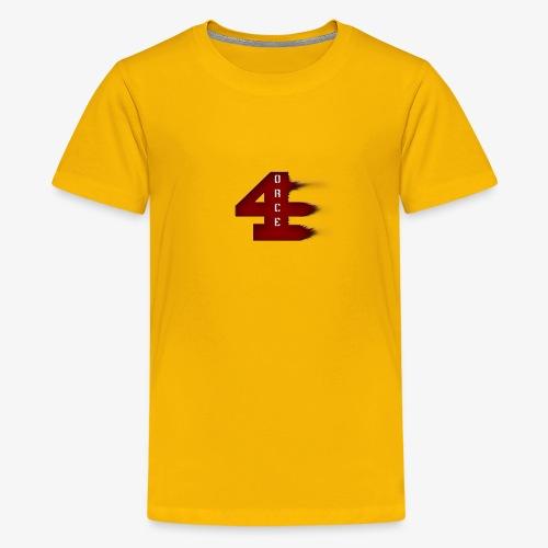 4orce (Red) - Kids' Premium T-Shirt