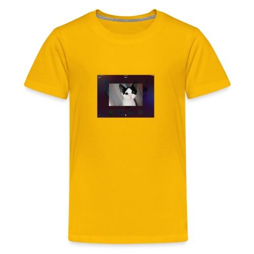 Tineey cat - Kids' Premium T-Shirt