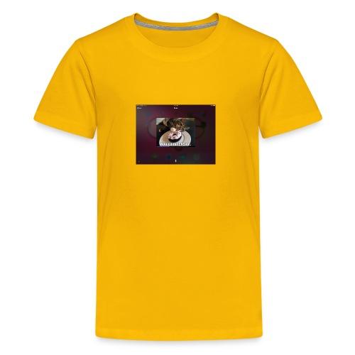 Donuts cat - Kids' Premium T-Shirt