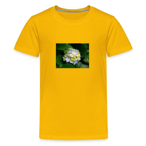 its a flower shirt - Kids' Premium T-Shirt
