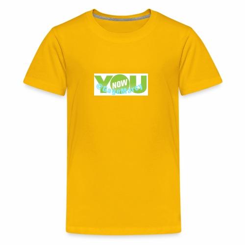 Younow logo - Kids' Premium T-Shirt