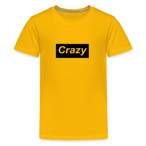 Crazy logo - Kids' Premium T-Shirt