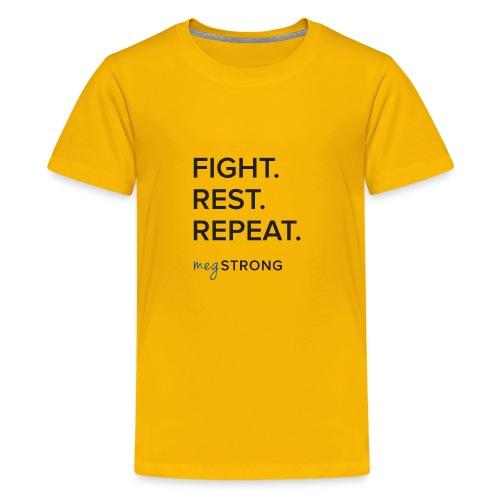Fight Rest Repeat - Kids' Premium T-Shirt