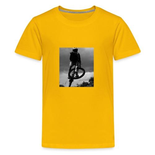 DOWNHILL. - Kids' Premium T-Shirt