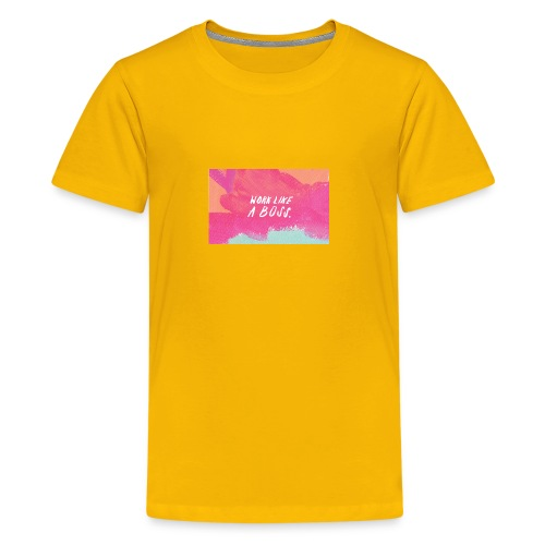 work it - Kids' Premium T-Shirt