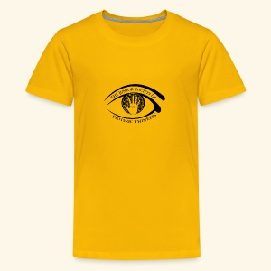 Society of Esoteric Thinkers black logo - Kids' Premium T-Shirt
