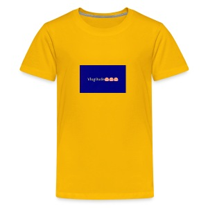 Pixlr vlogdude - Kids' Premium T-Shirt