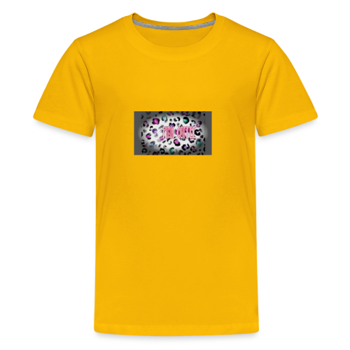 Pink Coffee Logo #1 - Kids' Premium T-Shirt