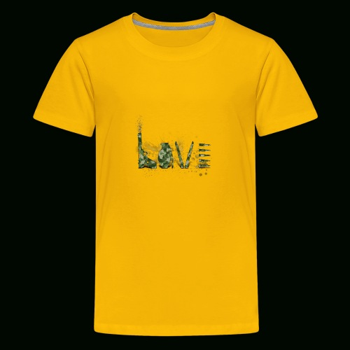 Love and War - Army - Kids' Premium T-Shirt