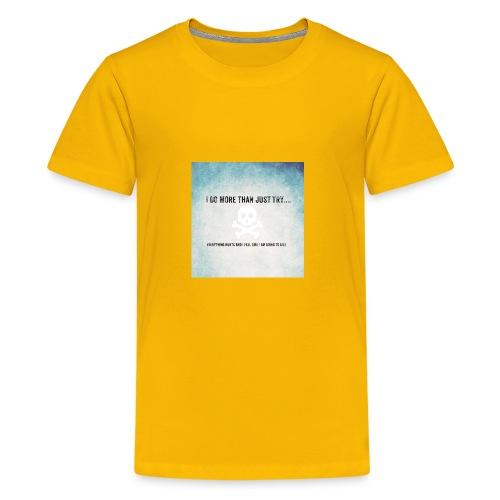 I do more than try - Kids' Premium T-Shirt