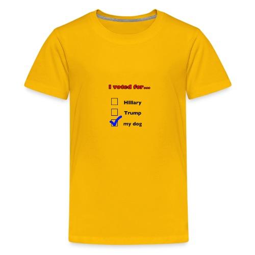 Dog lover political design - Kids' Premium T-Shirt