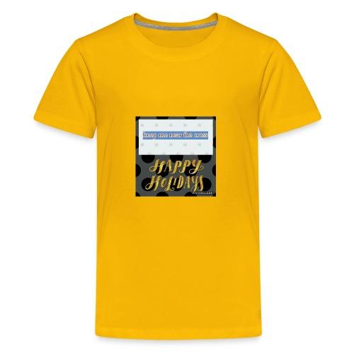 keel me near the cross poster - Kids' Premium T-Shirt