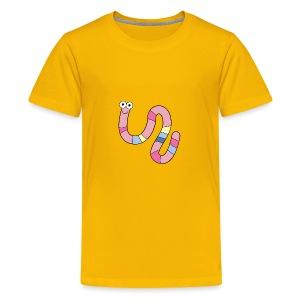 Squirmy Wormy (plain) - Kids' Premium T-Shirt