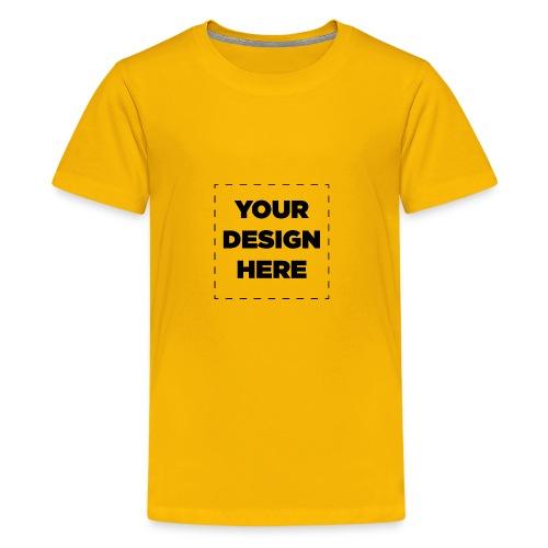 Name of design - Kids' Premium T-Shirt