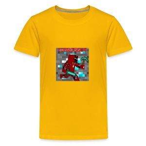 Yobro5604 icon for youtube channel - Kids' Premium T-Shirt