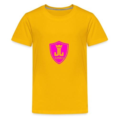 DJ Junko Pink Logo - Kids' Premium T-Shirt