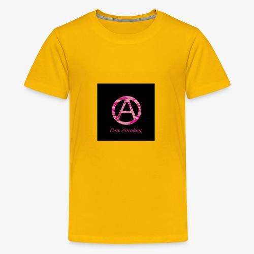Ora Smokey / pink camo - Kids' Premium T-Shirt