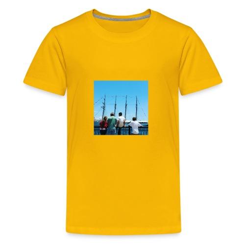Mi Familia.and Heather - Kids' Premium T-Shirt