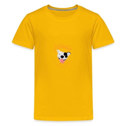 Atlanta Pit Bull Parents logo - Kids' Premium T-Shirt