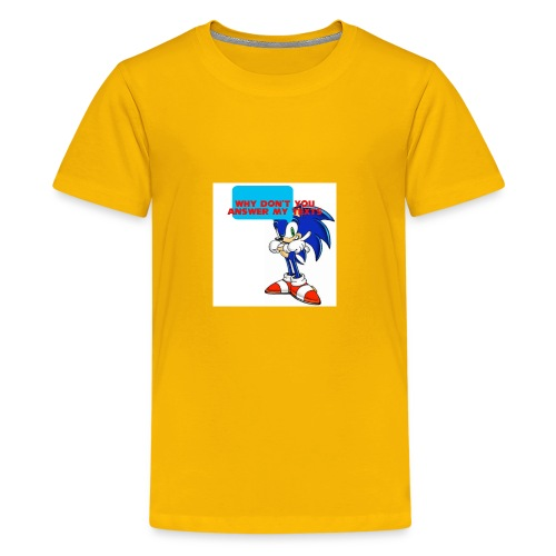 Why Don't you answer my texts - Kids' Premium T-Shirt