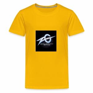 zeroGamingGRAVITY logol - Kids' Premium T-Shirt