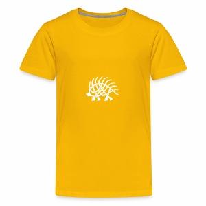 Boar Knot - White - Kids' Premium T-Shirt