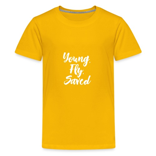 Young Fly Saved - Kids' Premium T-Shirt