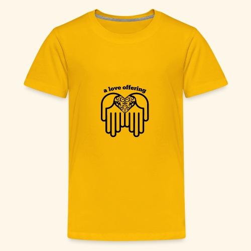A Love Offering black - Kids' Premium T-Shirt