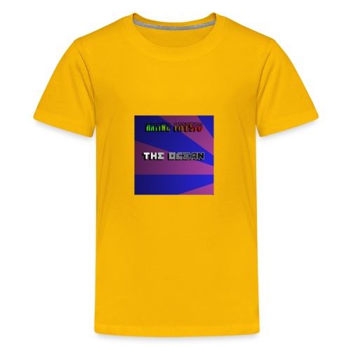 The Ocean Cover - Kids' Premium T-Shirt