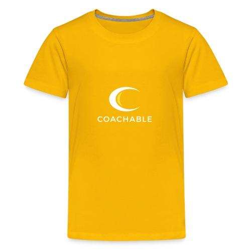 Coachable - Kids' Premium T-Shirt