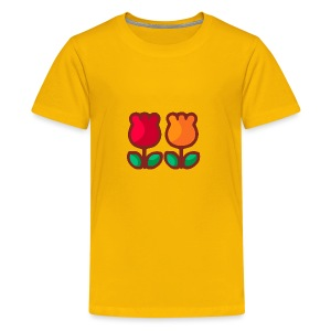 Loving Tulips - Kids' Premium T-Shirt