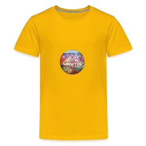 Rainbow_MOWTIN_Design_without_Background - Kids' Premium T-Shirt