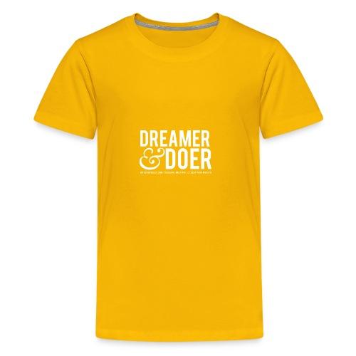 Wealth Weekly Dreamer and Doer Tee - Kids' Premium T-Shirt