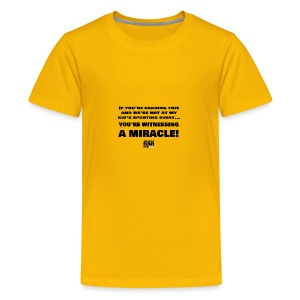 Witnessing A Miracle - Kids' Premium T-Shirt