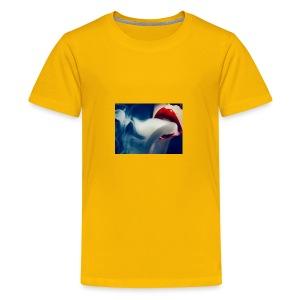 smoking woman 2 - Kids' Premium T-Shirt