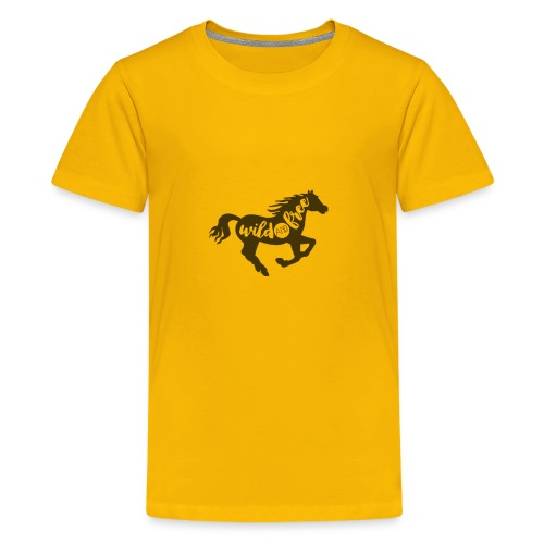 Wild and Free - Kids' Premium T-Shirt