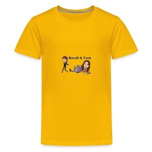 Sarah and Fam - Kids' Premium T-Shirt