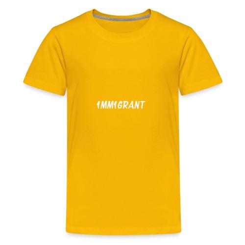 1MM1GRANT White - Kids' Premium T-Shirt
