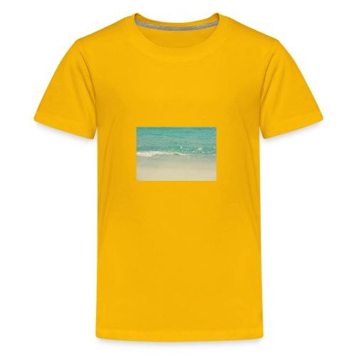 Love the beach. - Kids' Premium T-Shirt